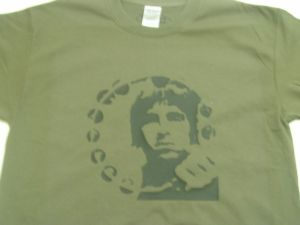 MENS ROCK & ROLL `NOEL GALLAGHER` T-SHIRT